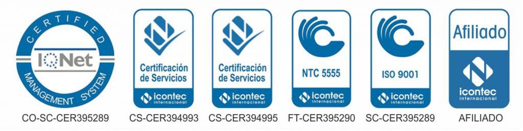 Certificados de calidad funedo
