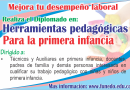 Herramientas pedagógicas para la primera infancia